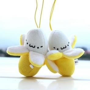 Banana Plush Keychain Small Pendant Stuffed Plush Bananas Key Chains 1 PCS Banana Pendant