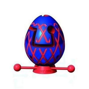 Kinderen Educatieve Speelgoed Puzzel Doolhof Bal denken Speelgoed Doolhof Ei (Blauw)