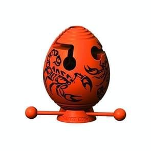 Kinderen Educatieve Speelgoed Puzzel Doolhof Bal denken Speelgoed Doolhof Ei (Oranje)