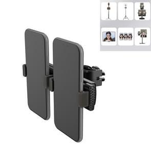 Live Broadcast Mobile Phone Tablet Expansion Clip voor 4 7-15 6 inch telefoons / tablets  stijl: dubbele positie