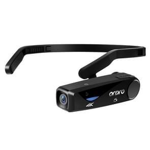 ORDRO EP6 Head-Mounted WIFI APP Live Video Smart Sports Camera Zonder afstandsbediening(Zwart)