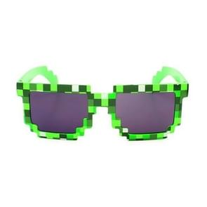 Fashion Sunglasses Action Game Toys Square Glasses(Green)