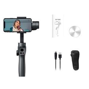 Smart Face Tracking Vibrato Live Broadcast Anti-Shake Selfie Stick Handheld Gimbal Drie-assige stabilisator  stijl: met opbergtas