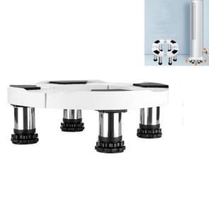 Ronde AirConditioner Basis Roestvrijstalen rekbare steunbeugel  specificatie: 4-poten Highten 10cm