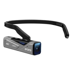 ORDRO EP7 4K Head-Mounted Auto Focus Live Video Smart Sports Camera  Style:Without Afstandsbediening (Zilver Zwart)