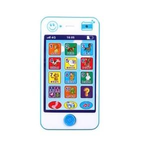 3 stuks speelgoed kinderen educatieve simulatie muziek mobiele telefoon Toy gift Russisch (blauw)