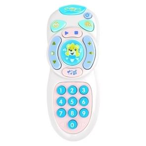 Baby Early Education Simulatie Telefoon Afstandsbediening Speelgoed (Roze)