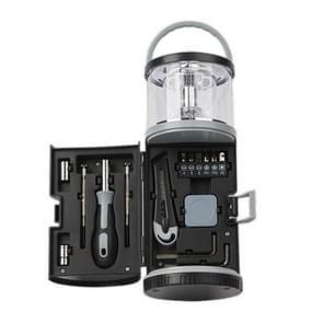 RX340 15 in 1 Outdoor Household Camping Lamp met Hardware Tool Set