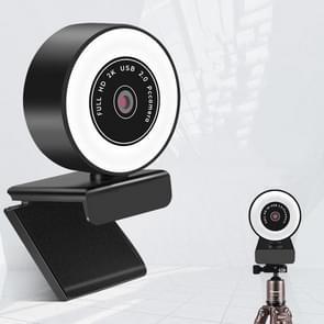 X98 USB-station-vrije HD-opvullichtcamera met microfoon  pixel:2K 1080P