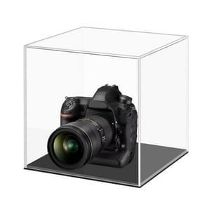 Grote 24x24x24cm Clear Acryl Camera Display Cover Plexiglas Display Case Countertop Box