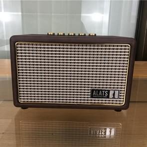 Hoge kwaliteit luidspreker model decoratie rekwisieten luidspreker real machine shell gemaakt luidspreker model  kleur: bruin (klein)