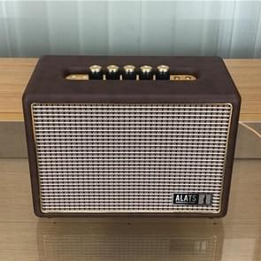 Hoge kwaliteit luidspreker model decoratie rekwisieten luidspreker real machine shell gemaakt luidspreker model  kleur: bruin (groot)