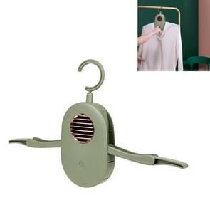 Draagbare huishoudelijke opvouwbare kleren droger automatische drooghanger  productspecificaties: Drogen (Vintage Groen)