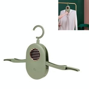 Draagbare huishoudelijke opvouwbare kleren droger automatische drooghanger  productspecificaties: Anion gesteriliseerd (Vintage Groen)
