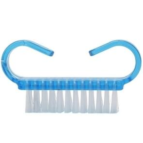 10 PCS Cleaning Brush Tools Nail Art Care Manicure Pedicure Remove Dust Small Angle Clean Brushes(Blue)