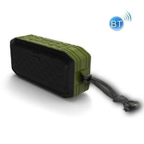 F8 IP67 Waterdichte Outdoor Sports Wireless Card Bluetooth Speaker(Groen)