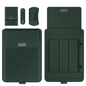 A2 4 in 1 Computer Bracket Liner Bag Storage Bag  Grootte:11/12 inch (Groen)