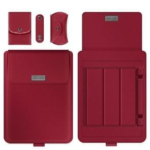 A2 4 in 1 Computer Bracket Liner Bag Storage Bag  Grootte:11/12 inch (Rood)