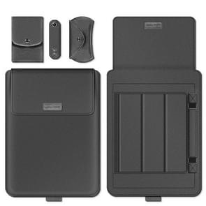 A2 4 in 1 Computer Bracket Liner Bag Storage Bag  Grootte:11/12 inch (Grijs)