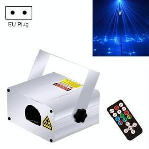 LT300 8W Lanling Starlight Full-Color Dynamic Meteor Shower Light Bar Room Decoration Starry Sky Projection Light Stage Laser Light  Specification: EU Plug