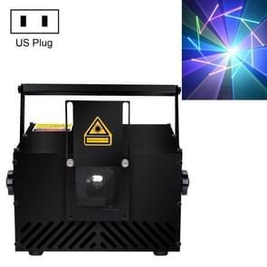 L1W-100 50W Animatie Laser Light KTV Bar Decoratie Laser Light DMX Smart Kleurrijk Licht  Specificatie: AMERIKAANSE stekker