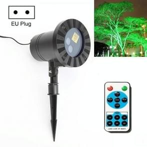 30W Afstandsbediening Outdoor Waterproof Laser Light Garden Decoratie Gazon lamp  Groen Licht + Rood licht (EU Plug)