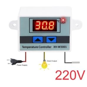 XH-W3001 Digital LED Temperature Controller Arduino Cooling Heating Switch Thermostat NTC Sensor 220V