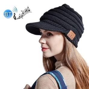 YZ Binaural Call Music Bluetooth Cap Winter Warm Wireless Headset Cap