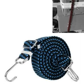3 PCS fietsbinding touw verbreding en verdikking multifunctionele elastische elastische bagage rope plank touw  lengte:4m (blauw)