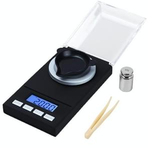 100g/0.001g High-Precision Draagbare sieraden schaal mini elektronische weegschaal precisie karaat elektronische weegschaal
