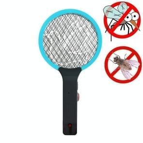 Elektrische Mosquito Swatter Oplaadbare Huishouden Vliegen Swatter Draagbare Auto Mosquito Swatter  CN Plug (Sky Blue)
