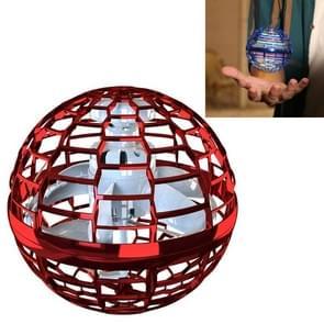 Magic Flying Ball Gyro Vliegtuigen kunnen draaien Creatieve Decompressie Toys (Rood)
