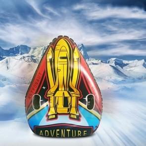 Universe Series Winter Rocket Pattern Opblaasbare skiring met two-handed Handle & Traction Rope Buckle