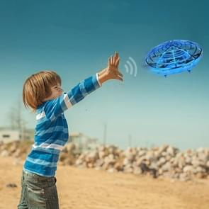 Mini Sensor UFO Afstandsbediening Drone Slimme Gebarensensor UFO Afstandsbediening UFO Vliegtuigen (Blauw)