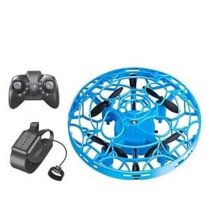 Bekijk de slimme sensor van de afstandsbediening  UFO vier-assige minidrone met drie bediening  kleur: gebarensensor+horloge+afstandsbediening (blauw)
