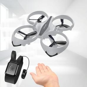 Bekijk afstandsbediening vier-assige speelgoed gebaar inductie drijvende vliegtuigen (Wit)