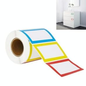 A-131 5 PCS Roll Name Label Stickers  Specificatie: 300 PCS/Roll  Grootte: 88x58 mm