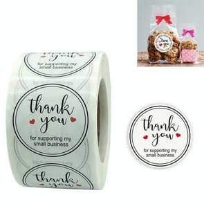 3 PCS Sealing Sticker Holiday Decoratie Label  Maat: 3.8cm / 1.5inch(A-68)