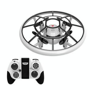 Q1 Mini Kleurrijke Licht Vaste hoogte Afstandsbediening Anti-Collision Quadcopter Drone (Wit)