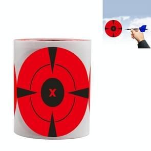 A-167 Roll Shooting Targeting Sticker Bow en Arrow Darts Target Paper  Breedte: 75mm