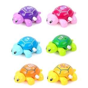 3 stuks mini Clockwork Tortoise speelgoed kinderen kunststof weinig dierlijke schildpad speelgoed (kleur en stijl willekeurige levering)