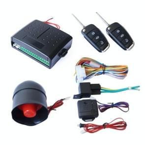 2 Set Universal Sound And Light Car Alarm 12V Vehicle Alarm System Bullet Key afstandsbediening