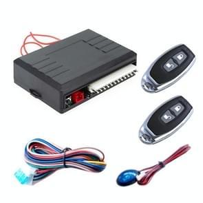 2 Set Universal Car Keyless Entry Afstandsbediening Centrale Vergrendeling met indicator licht en hoorn functie