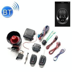 2 Auto alarm eenrichtingsalarm mobiele telefoon APP Bluetooth Control Vehicle