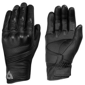 REVIT Racing Touchscreen Waterproof Gloves Motorcycle  ATV Downhill Cycling Riding Genuine Leather Gloves(M)