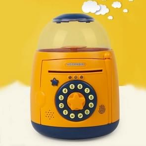 Ei Steamer Vorm Automatische Accoun Vingerafdruk spaarpot (Geel)