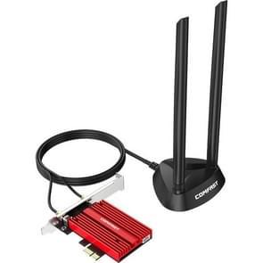COMFAST CF-AX200 Plus Dual-Band High-Power draadloze netwerkkaart 3000 Mbps High-Speed WiFi PCI-E Gaming draadloze netwerkkaart (AX200 Plus)