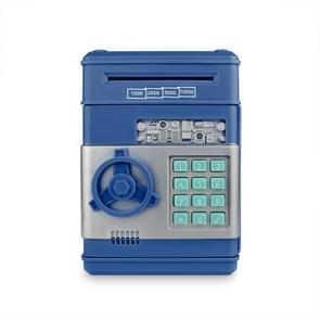 Elektronische spaarvarken ATM Password Geld Munten Saving Box (Blauw)