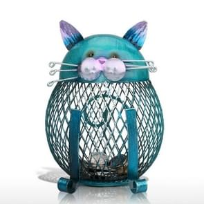Cat Piggy Bank Metal Coin Bank Money Box Figurines Coin Box Saving Money Home Decor New Year Christmas Gift For Kids