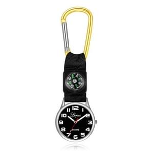 2 PCS Lvpai Nurse Pocket Watch Casual Nurse Pocket Watch (geel)